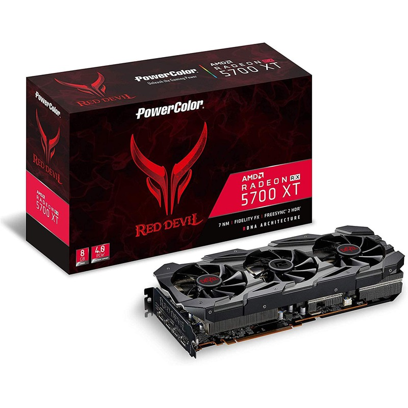 GPU PowerColor RX 5700 XT Red Devil 8GB DDR6