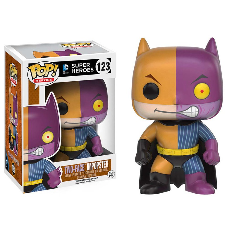Funko Super Heroes Batman as Two Face 123