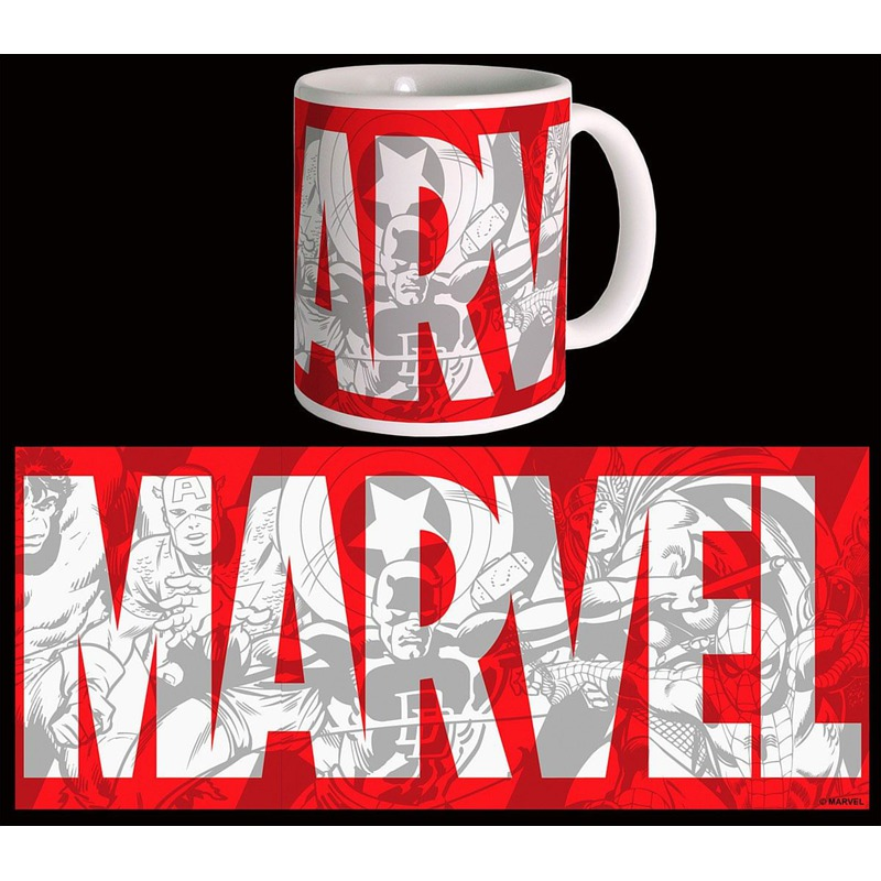 Šalica Marvel Comics Big Logo