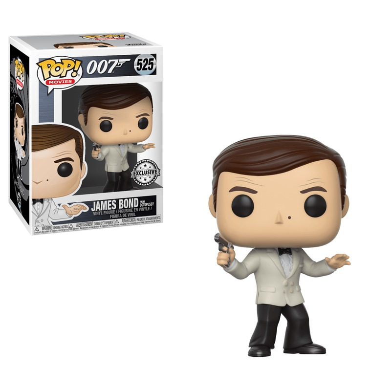 Funko James Bond Roger Moore White Tux 525
