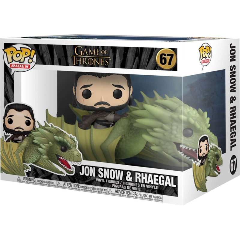 Funko Game Of Thrones Jon Snow With Rhaegal