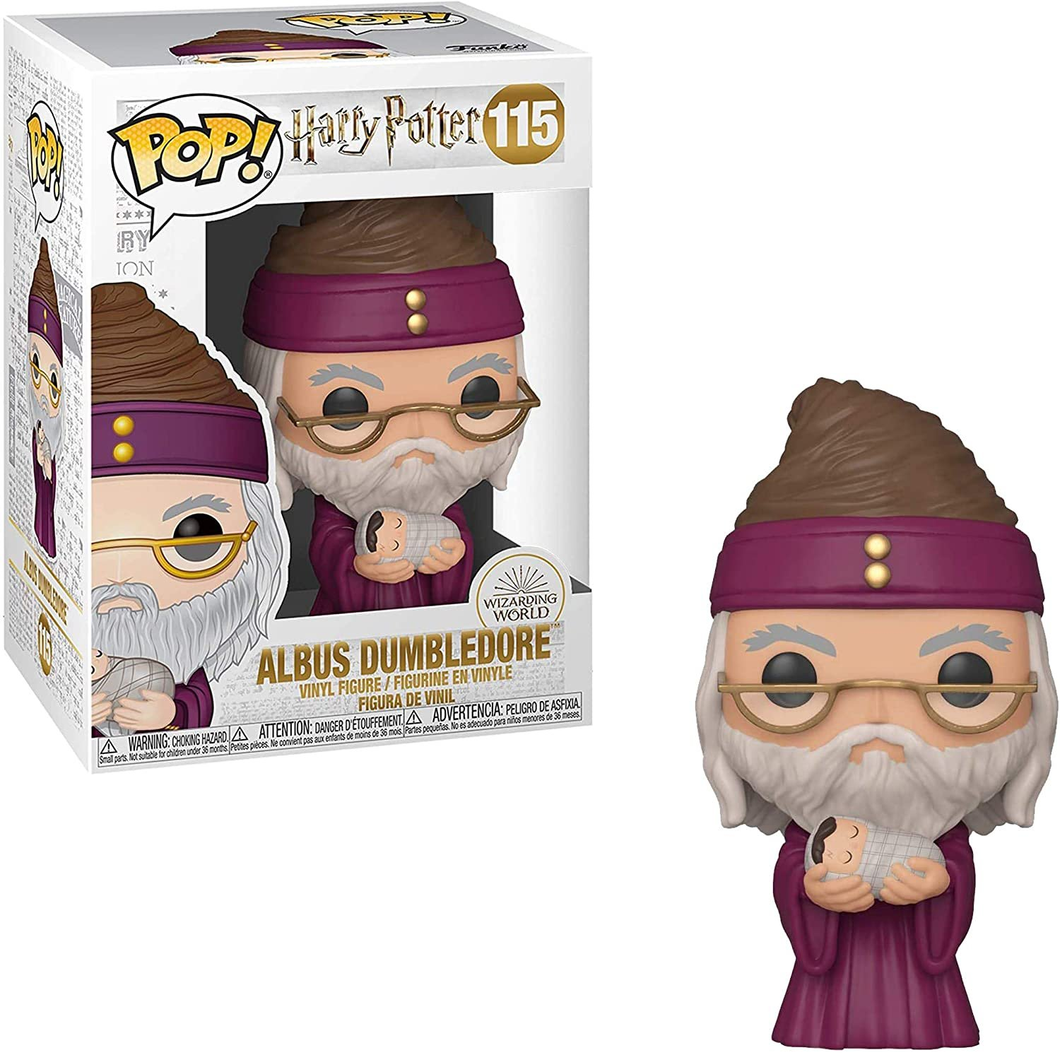 Funko Harry Potter Dumbledore with baby Harry 115