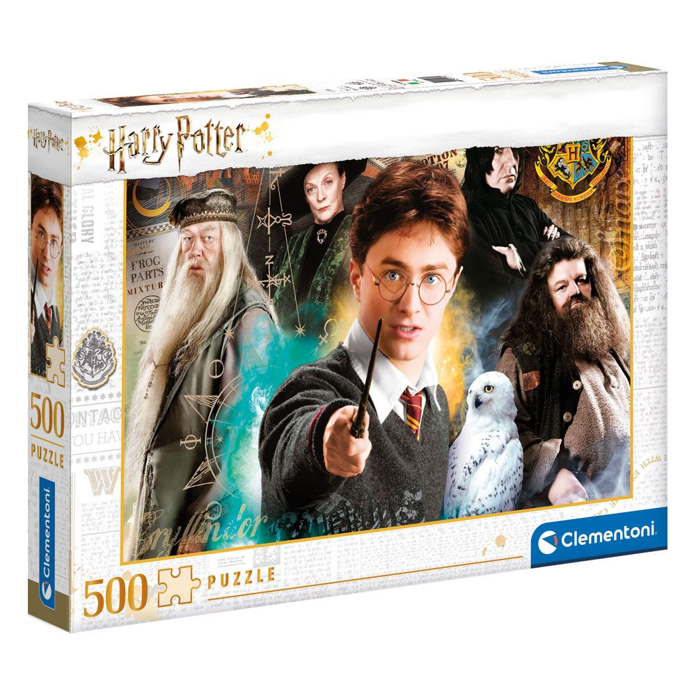 Puzzle Harry Potter Jigsaw Harry at Hogwarts (500 pieces)