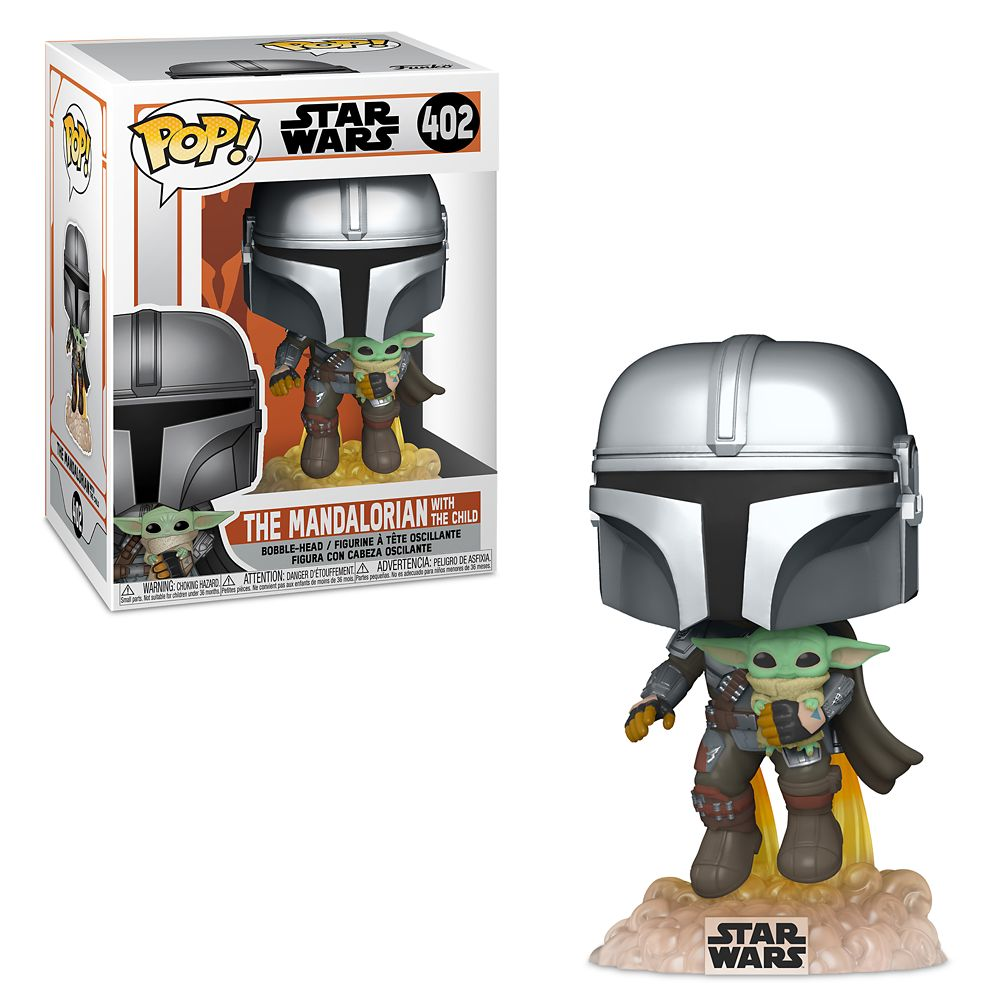 Funko Star Wars The Mandalorian Mando Flying w/ Jet Pack 402