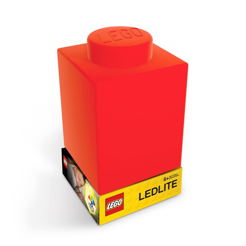 LEGO Nightlight Lego brick Red