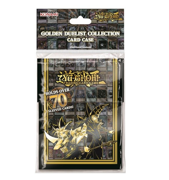 Yu-Gi-Oh Golden Duelists Deck Box