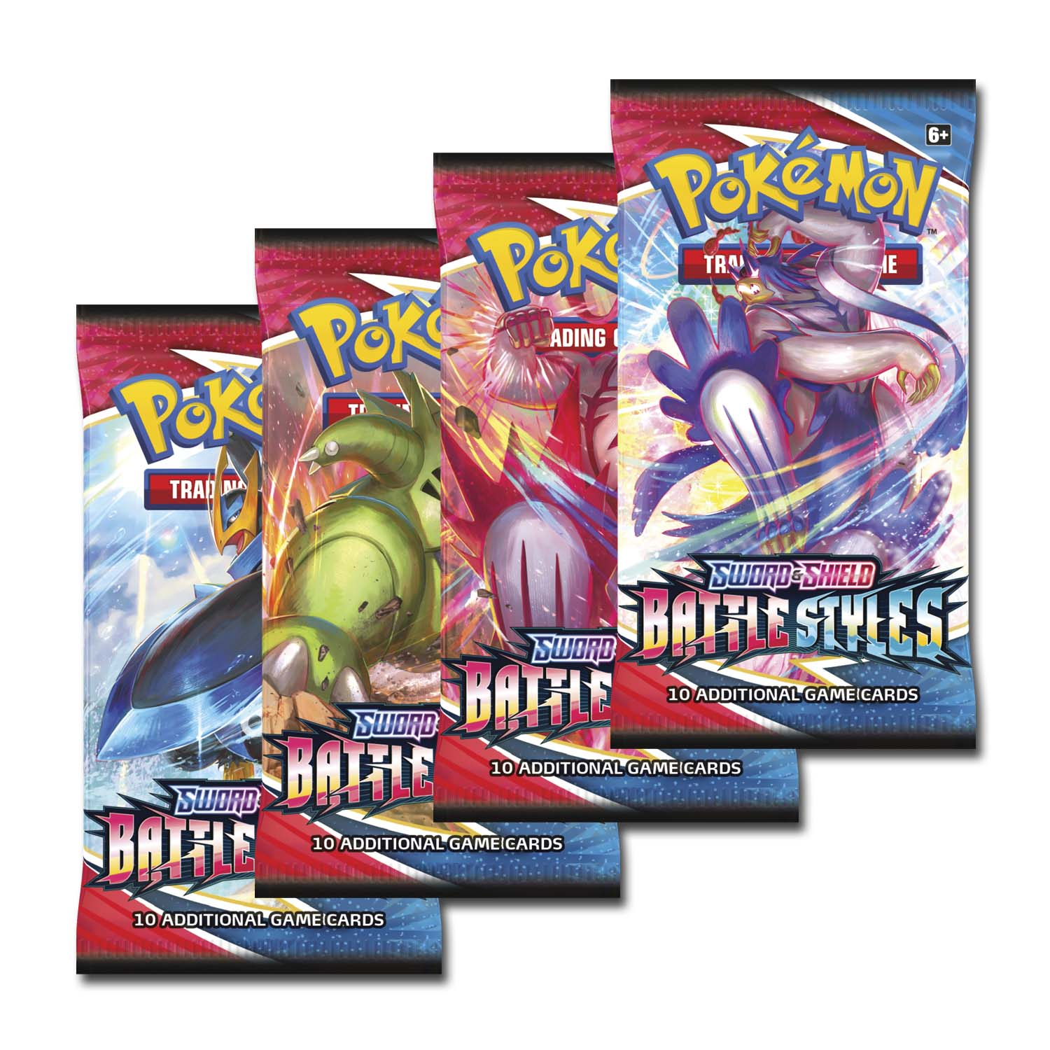 Pokemon SWSH Sword & Shield Battle Styles Booster