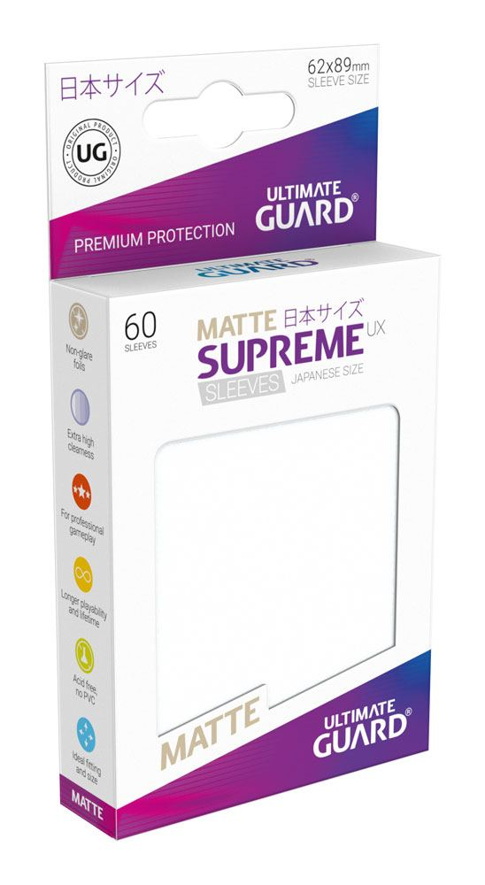 Yu-Gi-Oh Ultimate Guard Supreme UX Sleeves Japanese Size Matte Frosted (60)