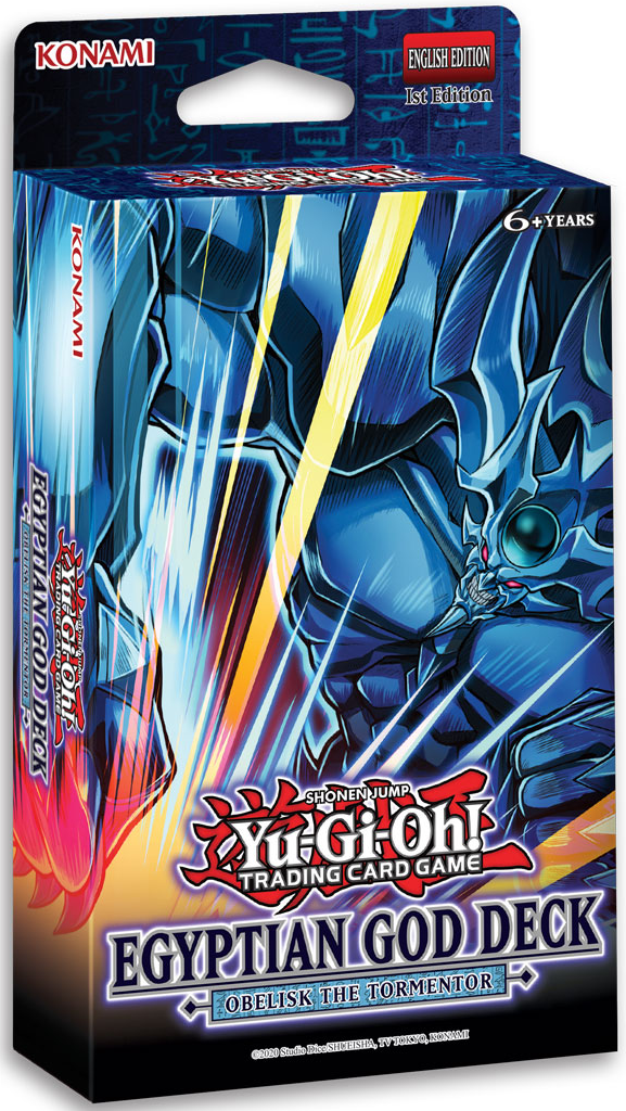 Yu-Gi-Oh SD Egyptian God Deck Obelisk/Slifer Preorder