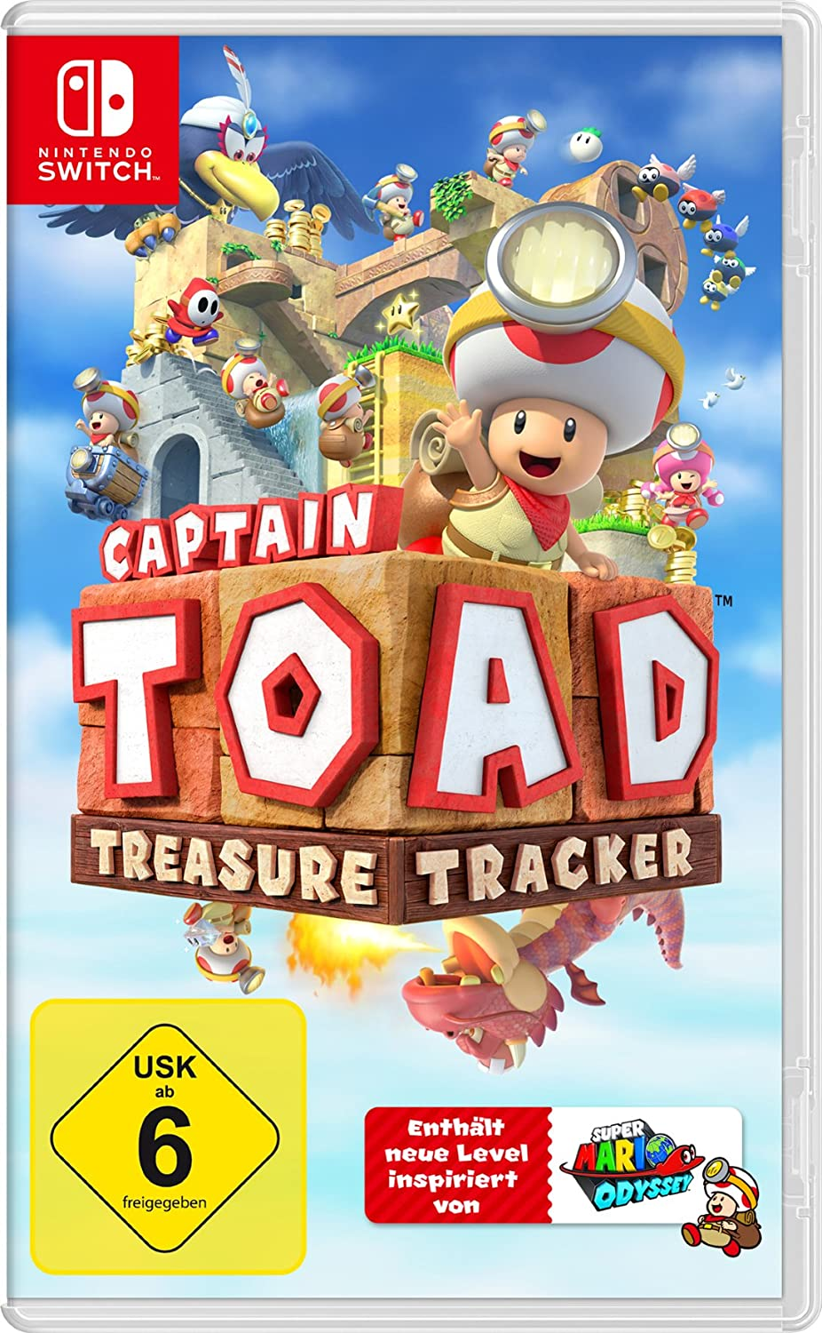 NS igra Captain Toad: Treasure Tracker