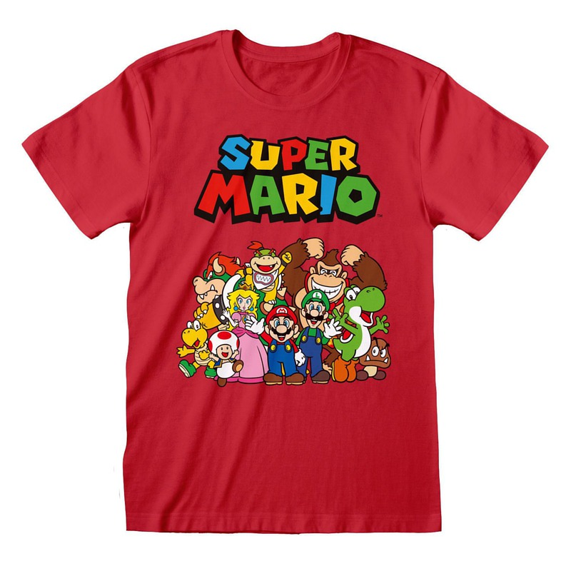 GM Super Mario Character Group S