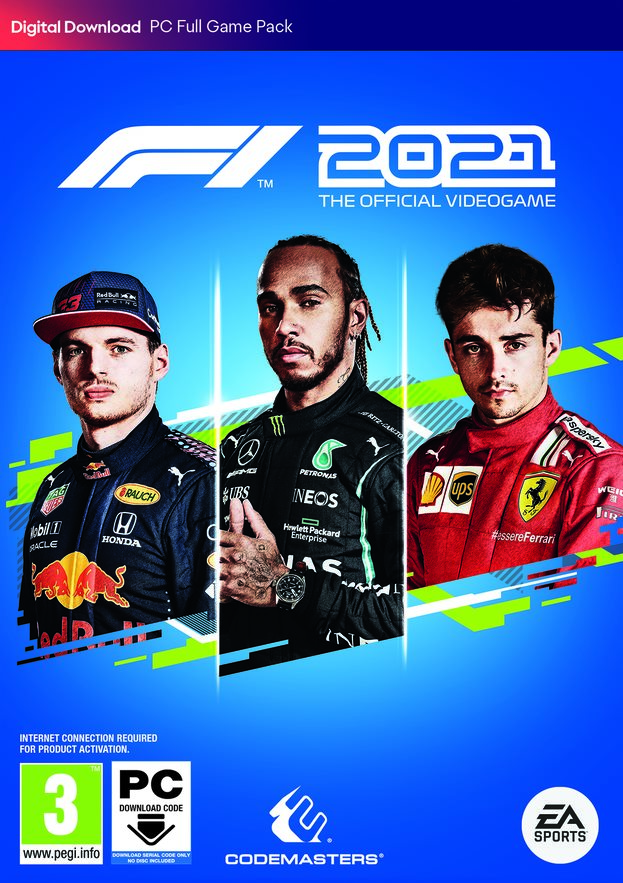 PC F1 2021 (Code in a Box) Preorder