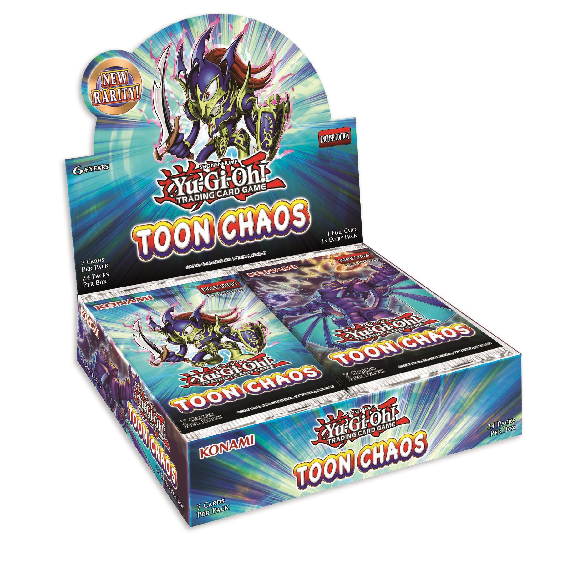Yu-Gi-Oh booster box Toon Chaos (sealed)